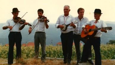 Cetos, Castro daire, 1987, intérpretes instrumentais da contradança do Montemuro