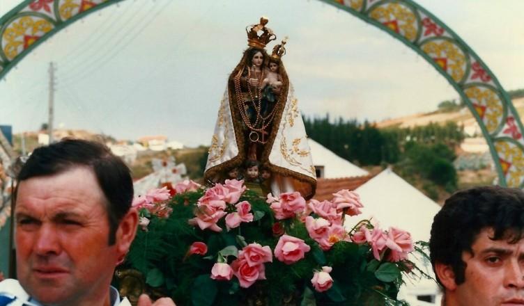 Procissão do Círio da Prata Grande no Sobral da Abelheira, 1987